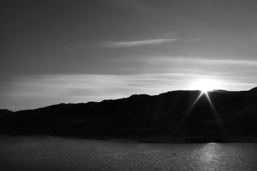 Horsetooth Sunset